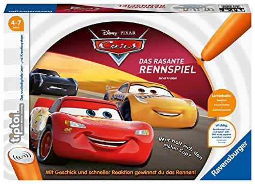 Ravensburger tiptoi 00021 - Cars – Das rasante Rennspiel