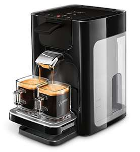 Philips HD7865/60 Senseo Quadrante Kaffeepadmaschine, Edelstahl, 1.2 Unknown_Modifier, Schwarz