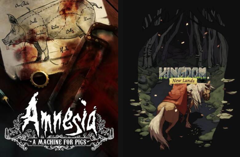Kingdom New Lands (PC & Mac) & Amnesia: A Machine for Pigs