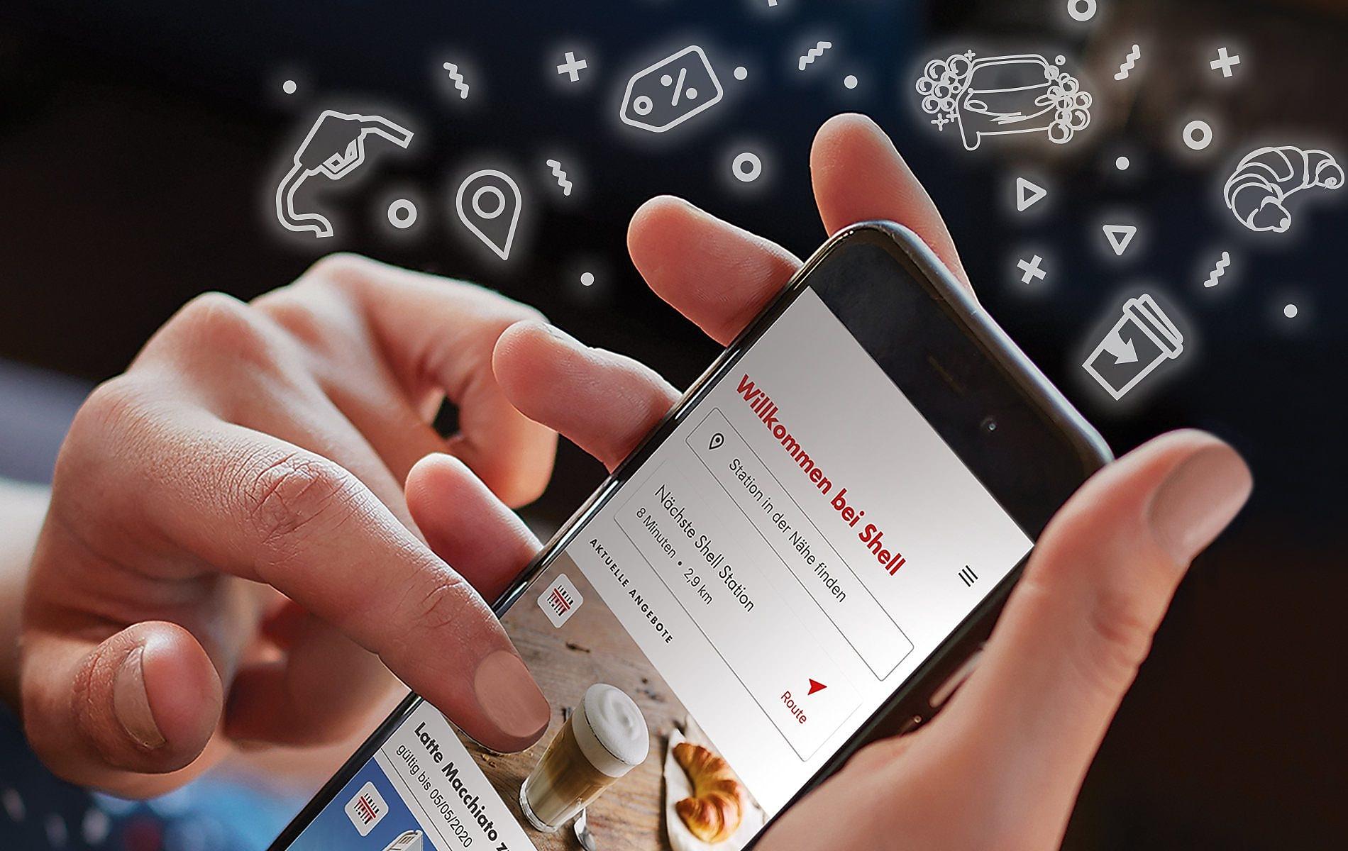 Shell App Wäsche um 5 EUR