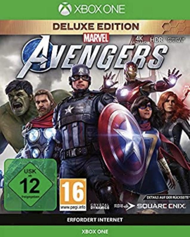 Square Enix Xbox Marvel's Avengers Deluxe Edition bei Amazon