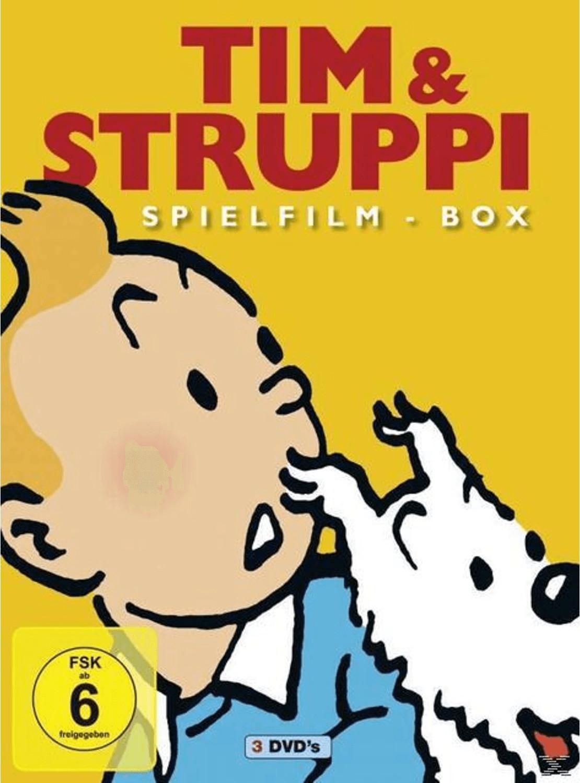 Tim & Struppi Spielfilm Box [DVD]