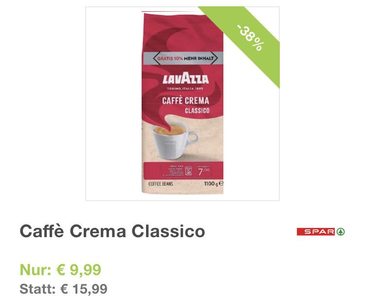 Lavazza Café Crema 1100g