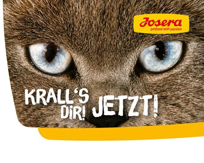 2 x gratis JOSERA Katzenfutterprobe