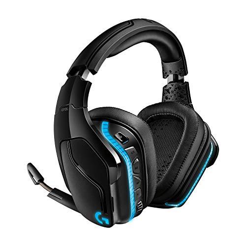 Logitech G935 kabelloses Gaming-Headset mit LIGHTSYNC RGB, 7.1 Surround Sound