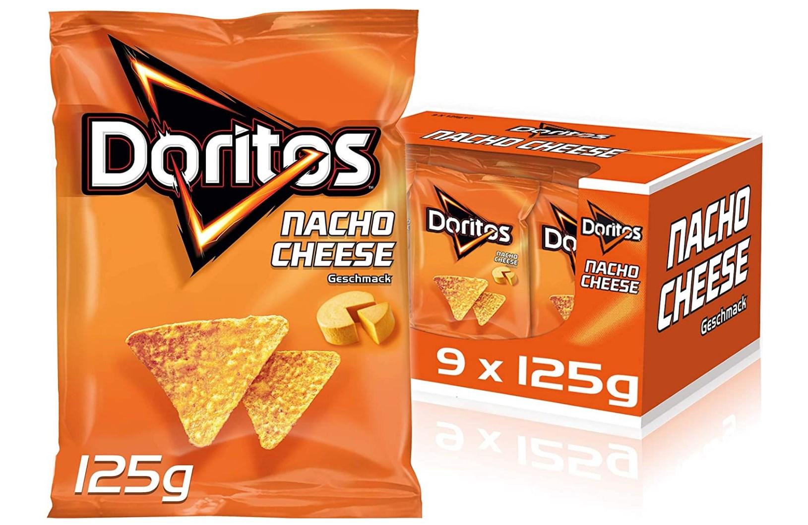 9x 125g Doritos Nacho Cheese
