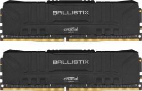 Crucial Ballistix schwarz DIMM Kit 16GB, DDR4-3600, CL16-18-18-38