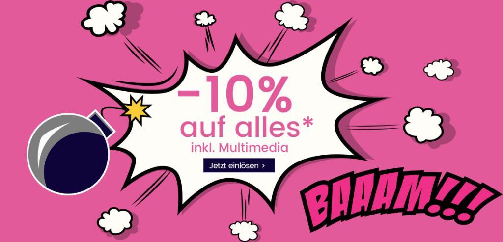 Universal 10% Rabatt INKL. Multimedia