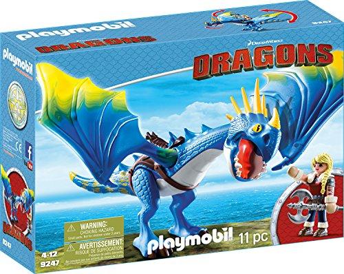 PLAYMOBIL 9247 - DreamWorks Dragons, Astrid und Sturmpfeil