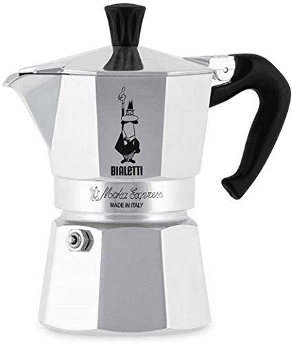Bialetti Moka Easy Mokka-Kocher Express 3 Tassen (Auch andere Größen / Versionen!)