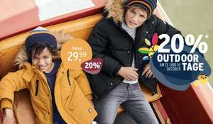 Ernstings Family: 20% Rabatt auf Outdoor Jacken