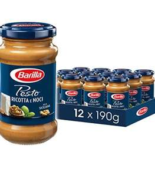 Barilla nussiges Pesto Ricotta e Noci – Pesto 12er Pack