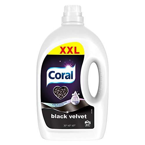AMAZON.de l Coral Waschmittel flüssig für intensives Schwarz – 60 Waschladungen (3 Liter)