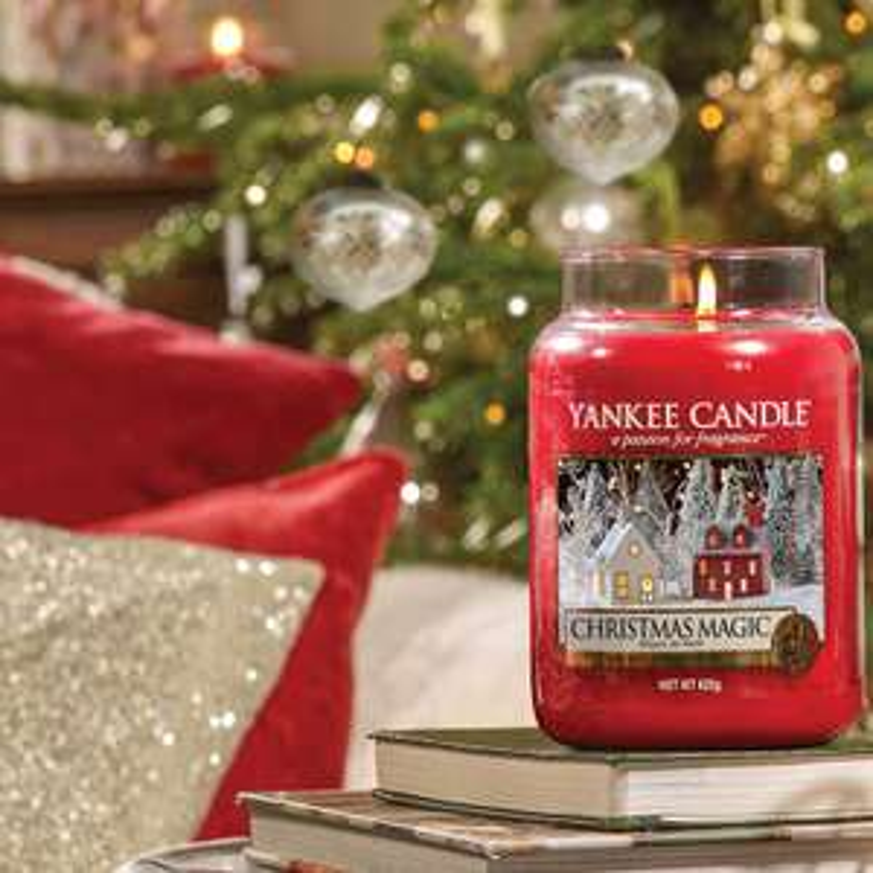Yankee Candle Magic Christmas 623g und Andere zum Bestpreis!