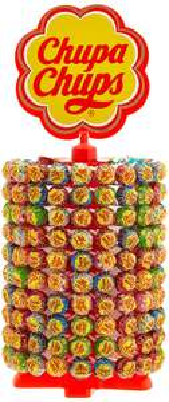[Amazon Prime] Chupa Chups 200er Lutscherrad Lollipop-Ständer mit 7 Sorten