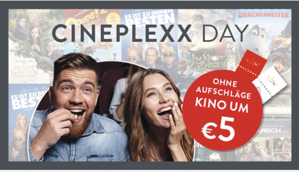 Cineplexx Day - Kinotickets um 5Euro ( ohne Aufschläge)