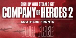 Gratis DLC - Company of Heroes 2: Southern Front Mission Pack (Windows/MAC/Linux PC) auf Steam