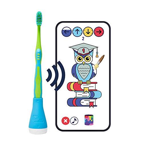 Playbrush Smart, smarter Kinder-Zahnbürstenaufsatz mit Apps zum spielerischen Erlernen des Zähneputzens