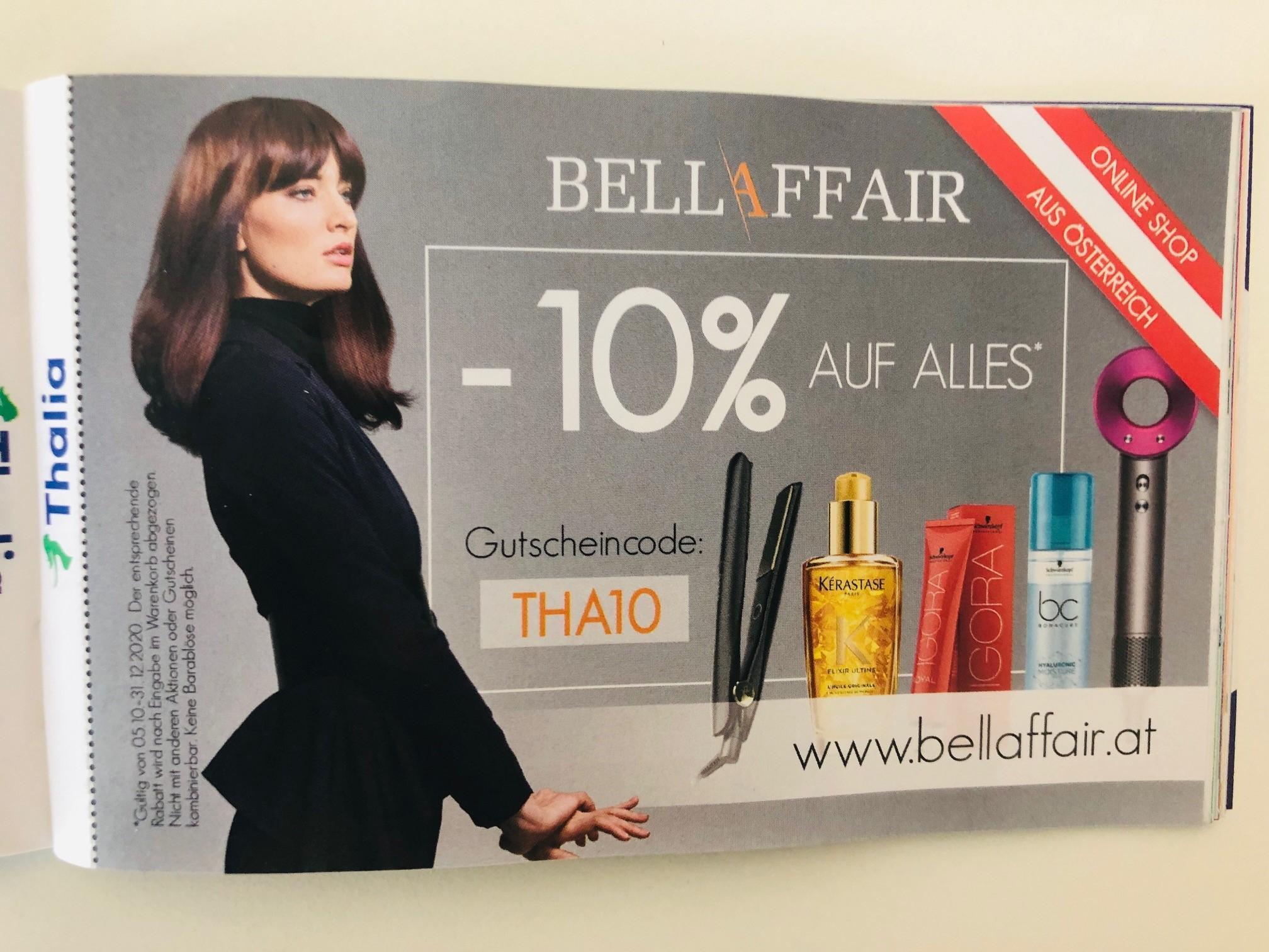 -10% bei BellAffair