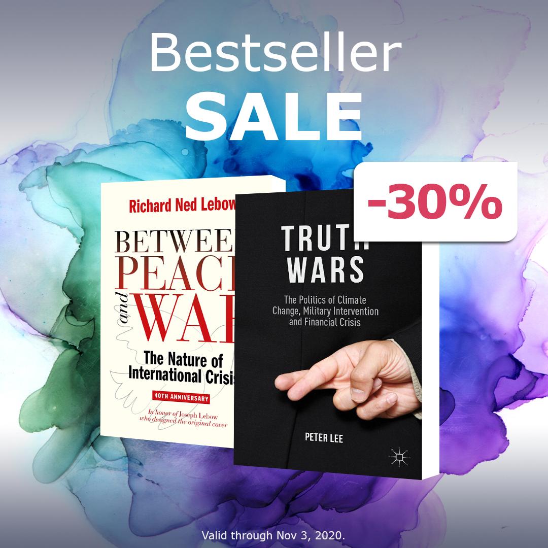Palgrave Shop: 30% Rabatt auf alle Bestseller eBooks & Softcover Bücher