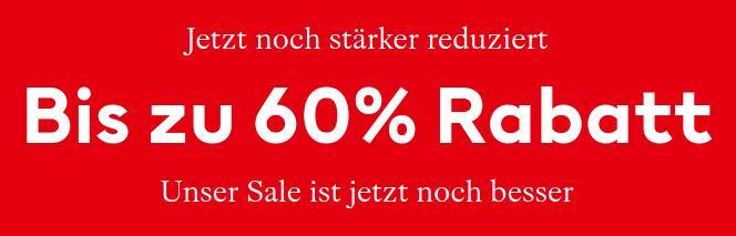 [H&M] Bis zu 60% Rabatt