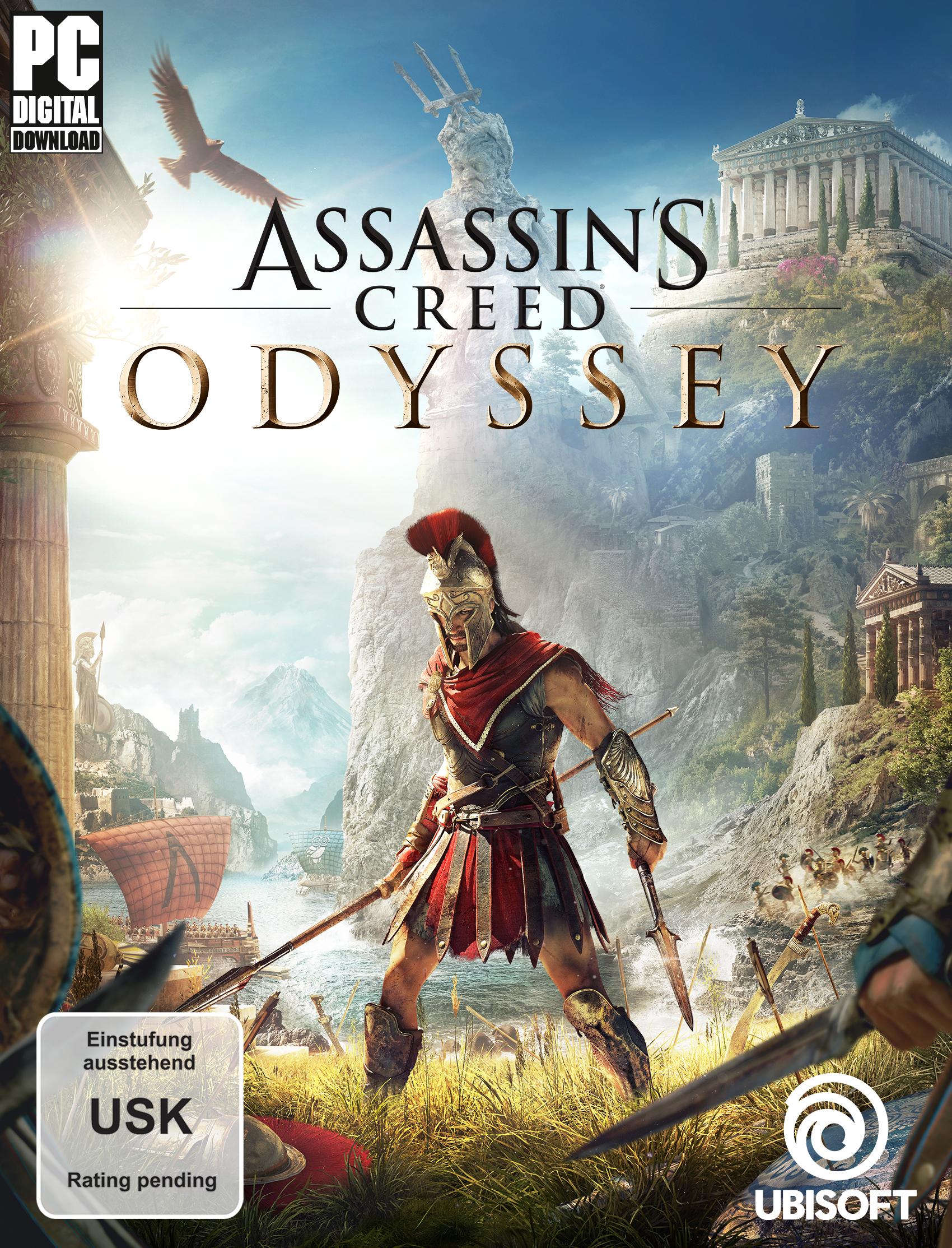Assassin's Creed Odyssey (Uplay-Code) um 3,78€ [Amazon]