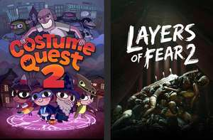 Costume Quest 2 und Layers of Fear 2 (PC) gratis im Epic Store ab 22.10. um 17 Uhr