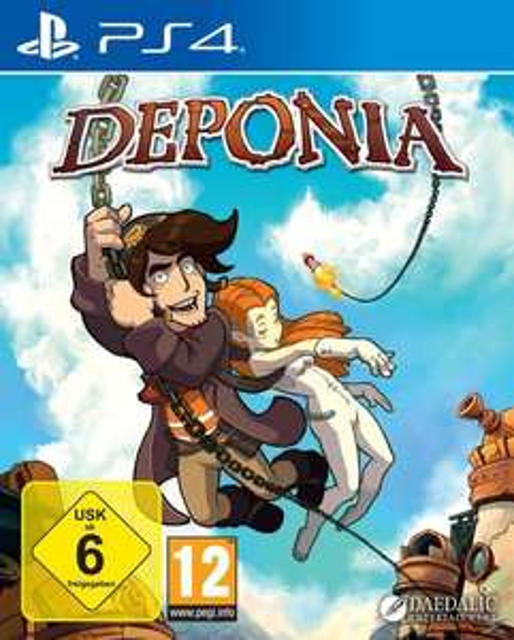 Deponia für die Ps4
