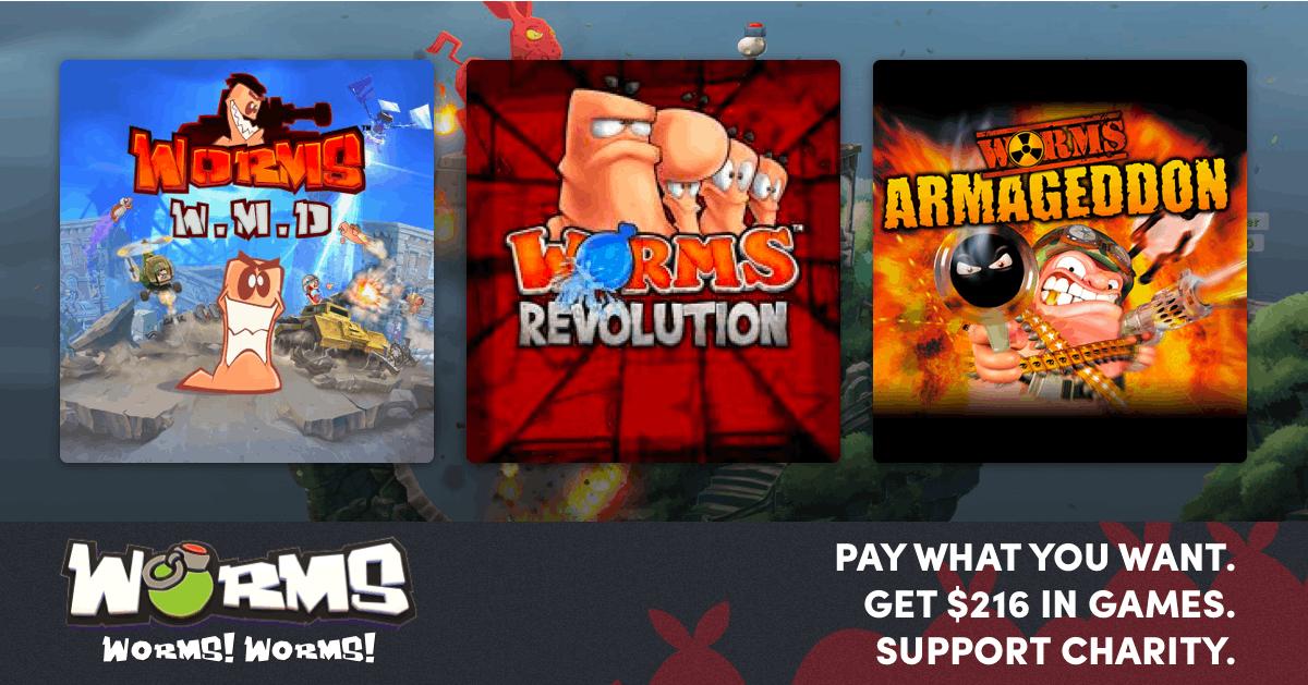 Worms Spiele ab 0,84€!