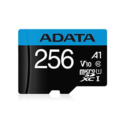 ADATA Premier AUSDX256GUICL10A1-RA1 Speicherkarte mit Adapter, 256 GB (Derzeit nicht auf Lager!)
