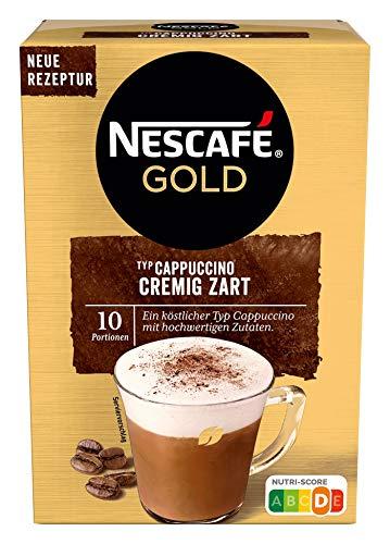 NESCAFÉ Gold Typ Cappuccino Cremig Zart à 10 x 14 g Sticks