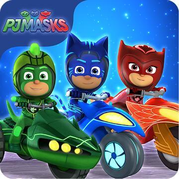 PJ MASKS Pyjama Helden: Rasante Helden (Android/iOS) gratis -No Ads/ No IAPS- Maskierte Preisjäger rasen zum nächsten Deal-> Win a Steam Key