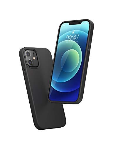 UGREEN iPhone 12/12 Pro Hülle Silikon Schutzhülle mit Innenfutter