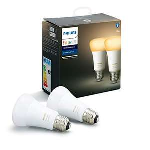 Philips Hue White Ambiance LED-Bulb E27 8.5W/822, 2er-Pack