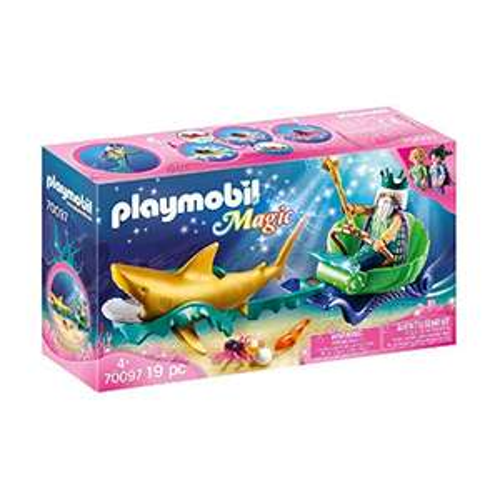 Playmobil Magic - Meereskönig mit Haikutsche