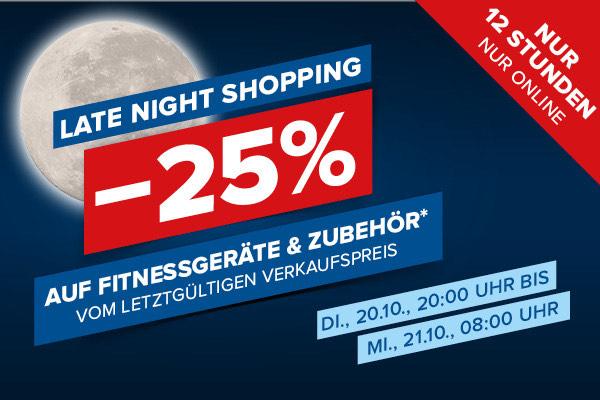 Hervis: 25% Rabatt auf Fitnessgeräte und Zubehör vom letztgültigen Verkaufspreis