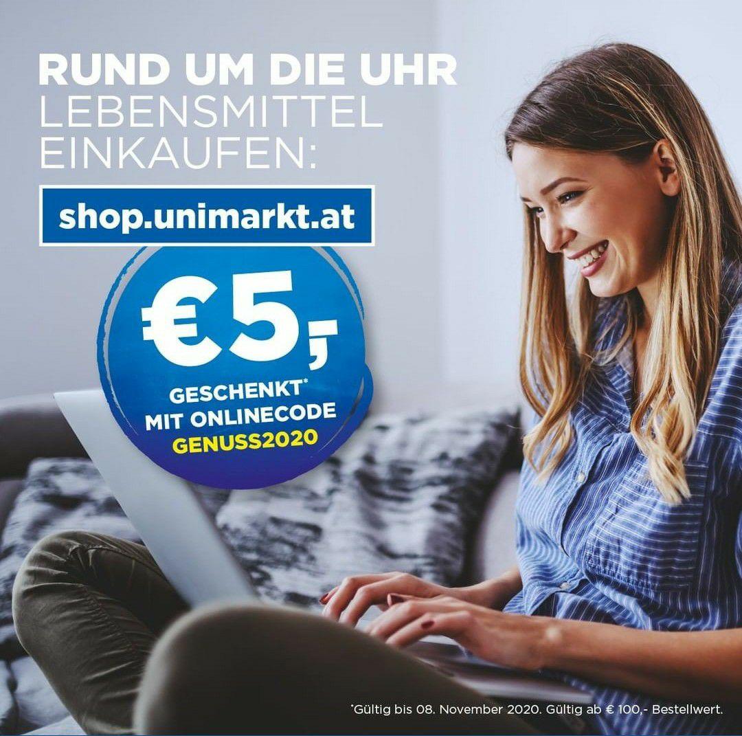 5€ Unimarkt Gutschein
