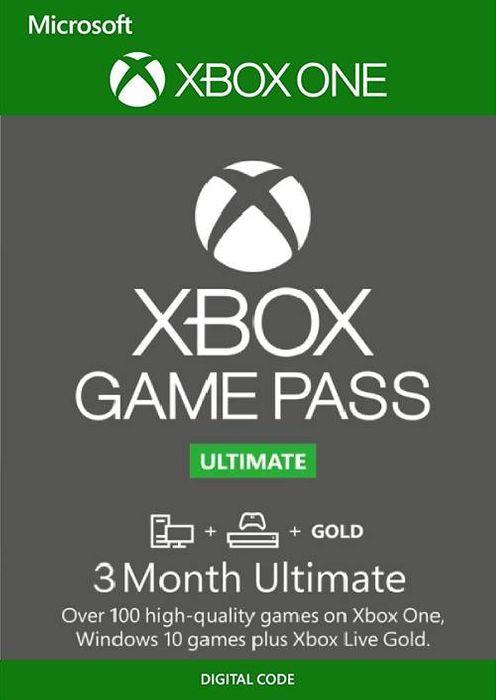Xbox Game Pass Ultimate - 3 Monats-Abonnement