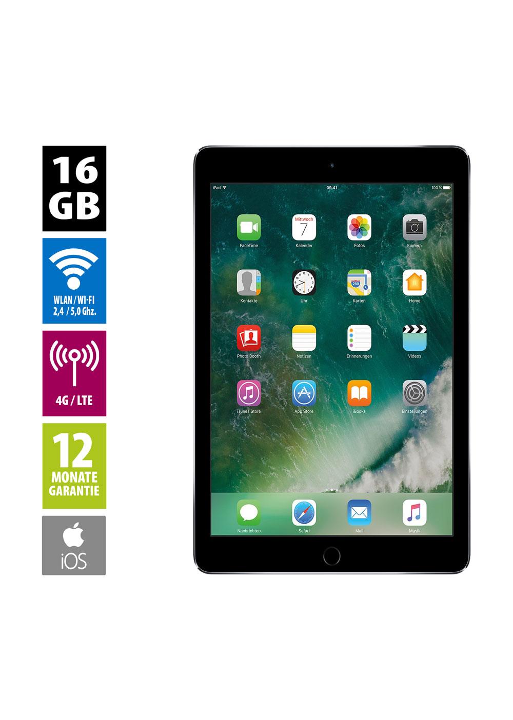 """Apple iPad mini 4 16GB """"gebraucht"""" Grade A"""