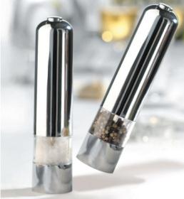 Elektrische Salz- und Pfeffermühle für 1€ mit Gutscheincode