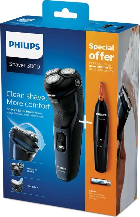 [Interspar] Philips S3000 Rasierer + Nasenhaartrimmer um 59,90€