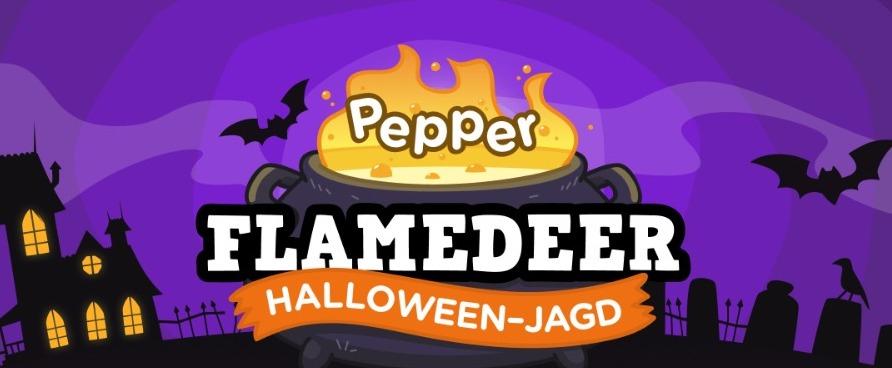 Preisjäger Halloween Flamedeer-Jagd/Gewinnspiel