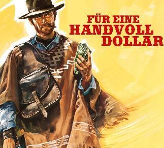 """Clint Eastwood in """"Für eine Handvoll Dollar"""" + """"Für ein paar Dollar mehr"""" von Sergio Leone zum Streamen oder Herunterladen"""