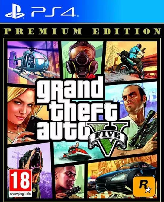 Grand Theft Auto V Premium Edition (PS4 / XBOX One) bei Media Markt zum diebisch guten Preis