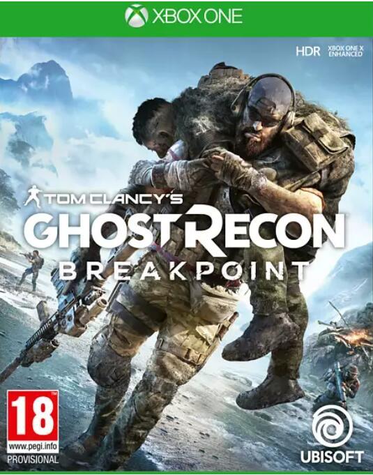Tom Clancy's Ghost Recon Breakpoint / leider nur noch Gold Edtion für 22,99 über (nur mehrXbox One) bei Media Markt zum Brecherpreis