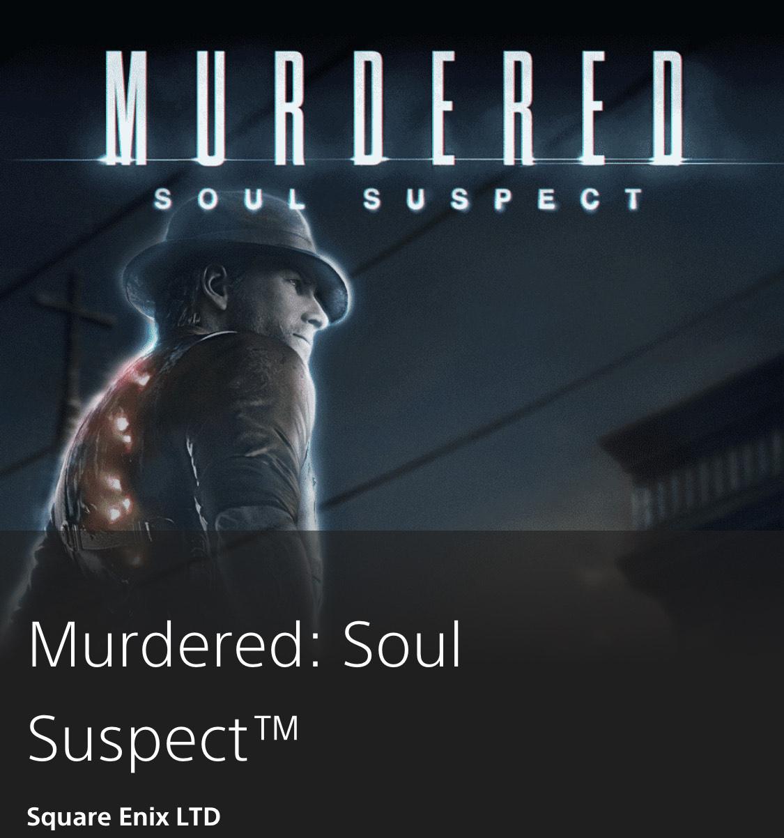 Murdered: Soul Suspect™ | Square Enix LTD