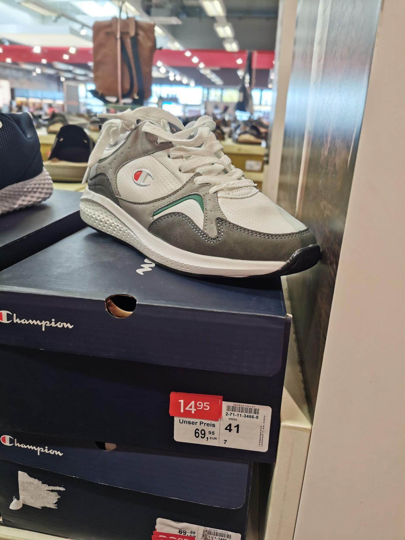 Champion Schuhe statt 69,95 nur 14,95 (und dazu noch - 30% auf reduzierte Artikel)