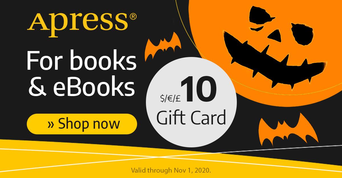 Apress: 10€ Gutschein auf Bestseller & Neuerscheinungen ab 20€