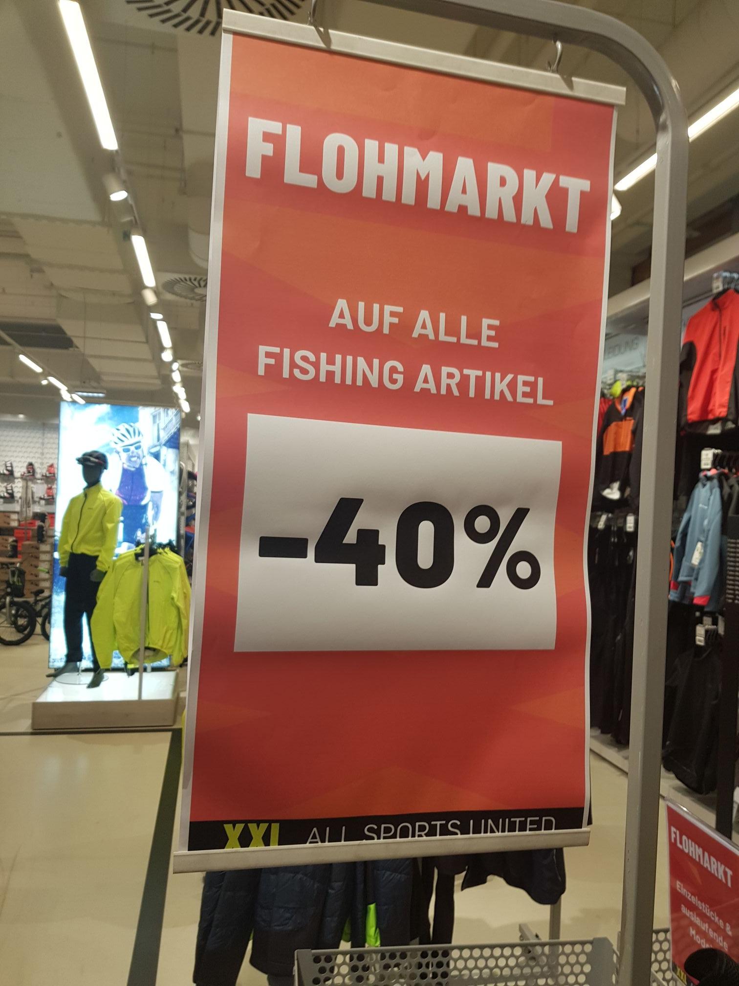 XXL Sport zusätzlich -40% auf Anglersortiment (Lokal?)