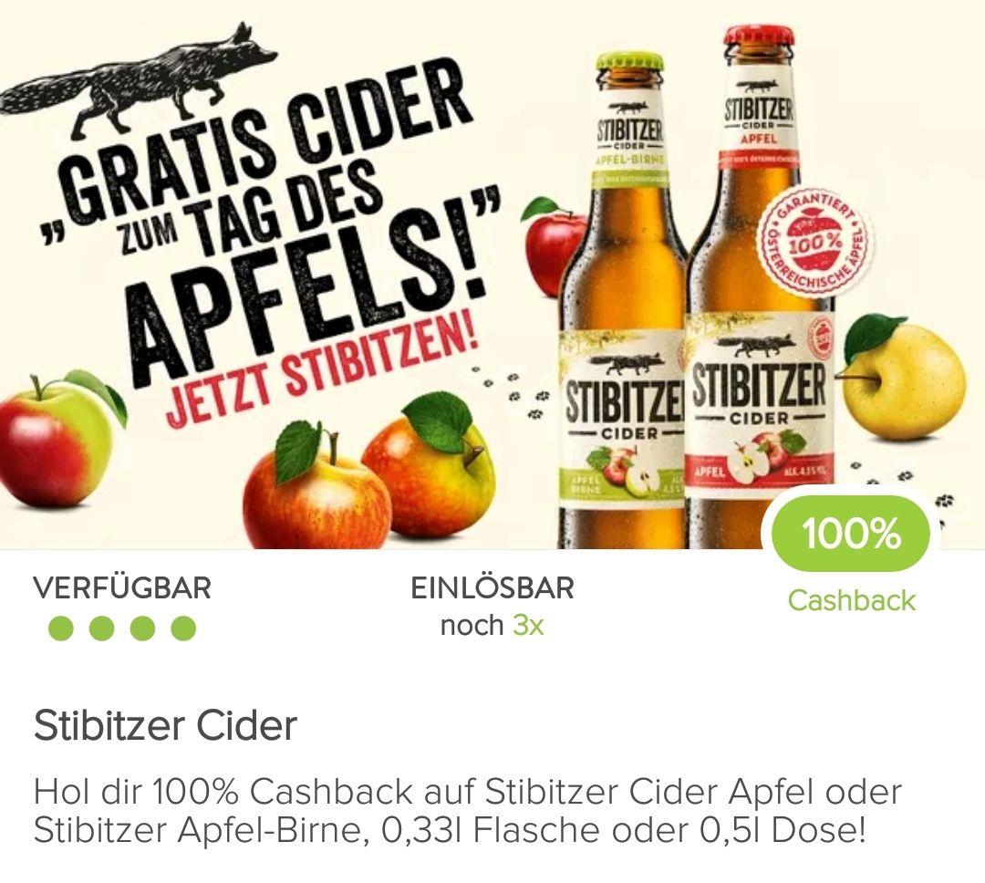 3x gratis Stibitzer Cider bei Marktguru